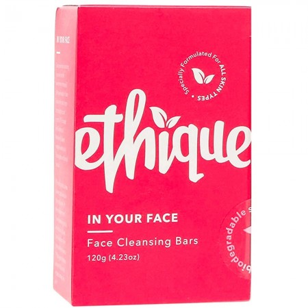 ETHIQUE Solid Face Cleanser Bar 120g - In Your Face
