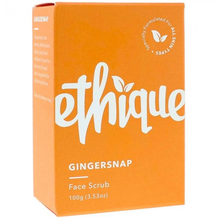 ETHIQUE Solid Face Scrub Bar 100g - Gingersnap