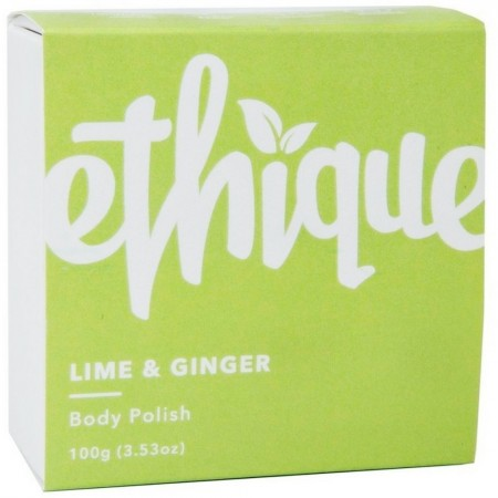 ETHIQUE Solid Body Polish Bar 110g - Lime & Ginger