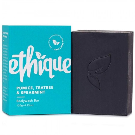 ETHIQUE Solid Bodywash Bar 120g - Pumice, Tea Tree & Spearmint