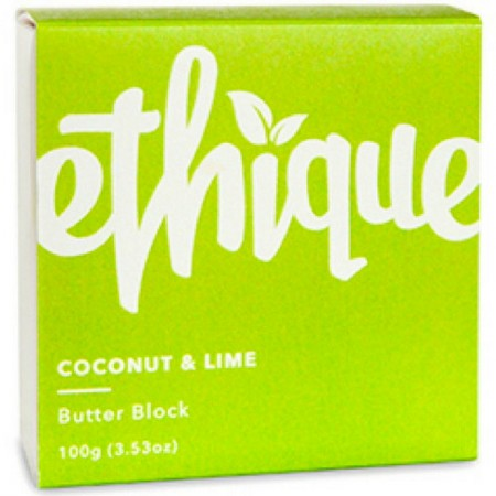 ETHIQUE Body Lotion Butter Block 100g - Coconut & Lime
