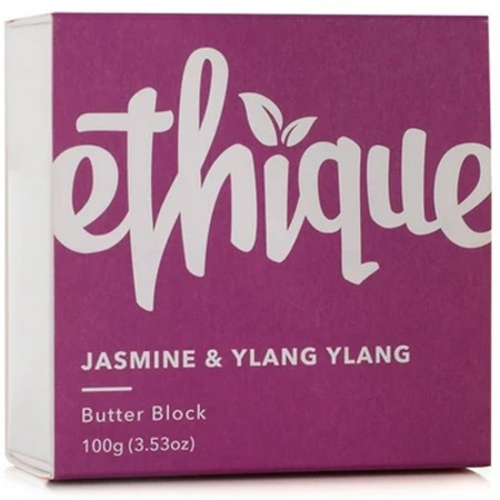 ETHIQUE Body Lotion Butter Block 100g - Jasmine & Ylang Ylang