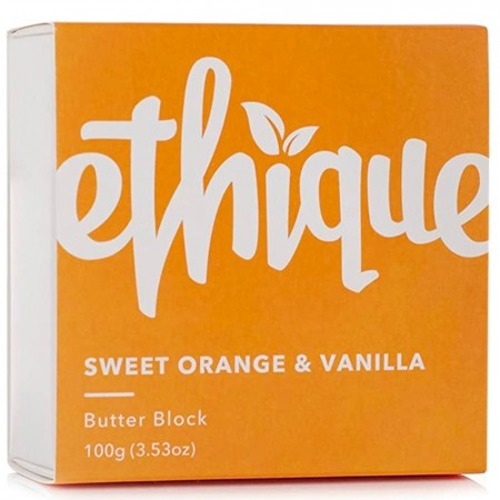 ETHIQUE Body Lotion Butter Block 100g - Sweet Orange & Vanilla
