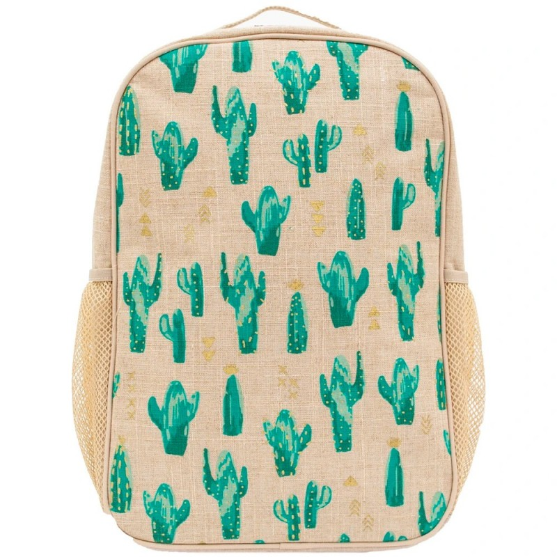 SoYoung Grade School Backpack Uncoated Cacti Desert