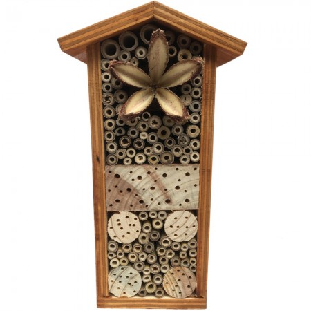Native Solitary Bees Bee Hotel - Large