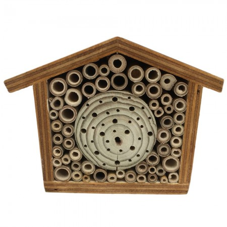 Native Solitary Bees Bee Hotel - Small