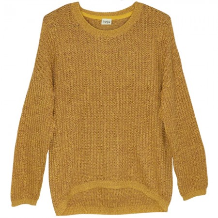 Torju Honeycomb Knit Jumper