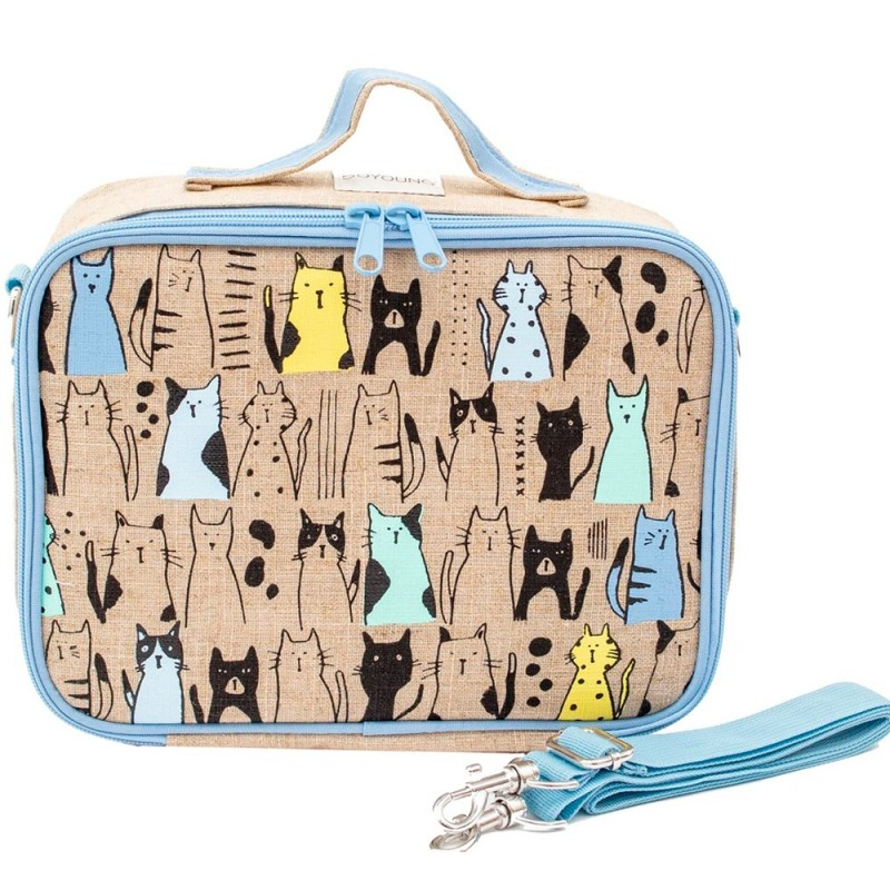 SoYoung lunch box Uncoated Curious Cats