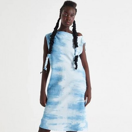 REMUSE Synthesis Dress - Indigo
