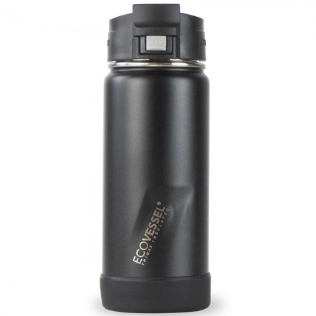 EcoVessel Perk Insulated Travel Mug with Strainer 473ml