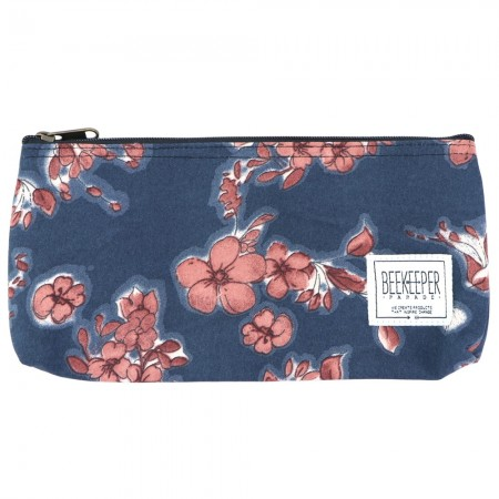 Beekeeper Parade Pencil Case - Maroon Flower