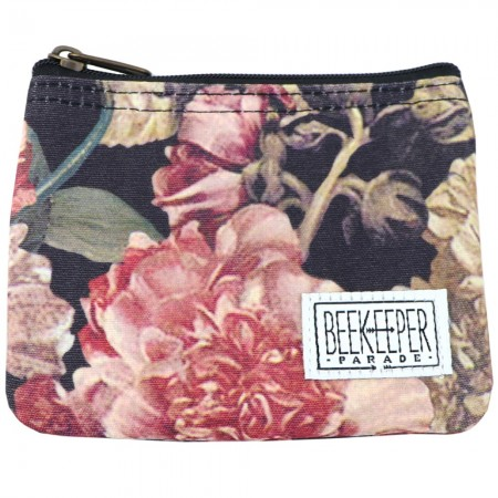 Beekeeper Parade Coin Purse - Antique Floral