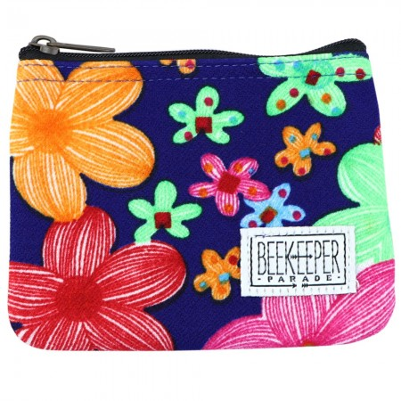 Beekeeper Parade Coin Purse - Field Of Flowers