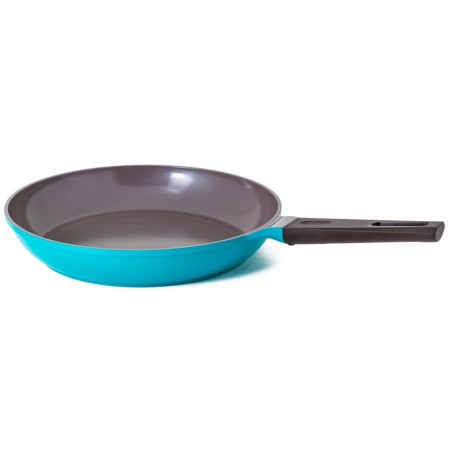 Nature+ Neoflam 32cm non stick fry pan - jade