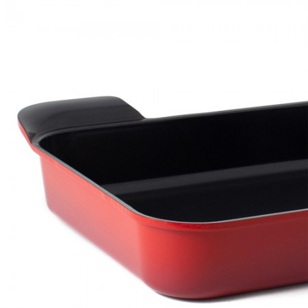 Neoflam roaster - large red