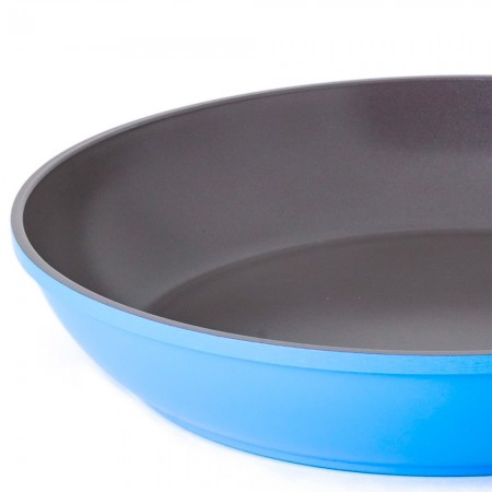 Nature+ Neoflam non stick fry pan 30cm - sky blue