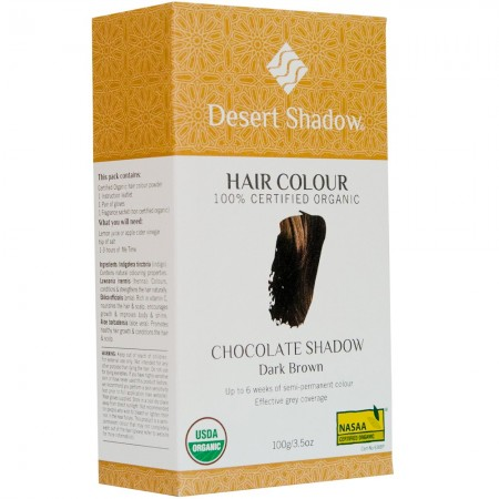 Desert Shadow Organic Hair Colour 100g - Chocolate Shadow