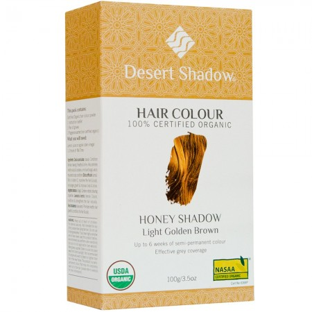 Desert Shadow Organic Hair Colour 100g - Honey Shadow