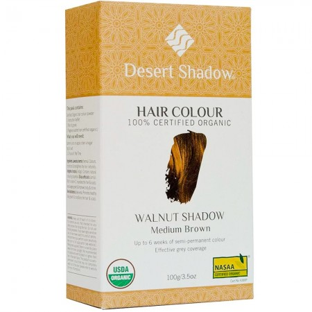 Desert Shadow Organic Hair Colour - Walnut Shadow 100g