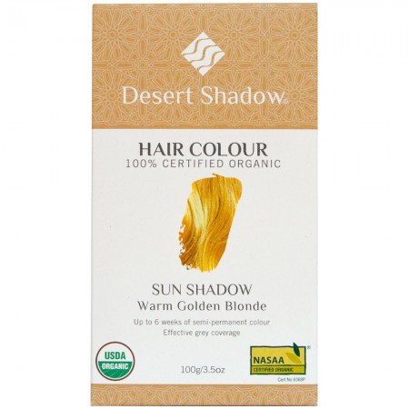 Desert Shadow Organic Hair Colour - Sun Shadow 100g