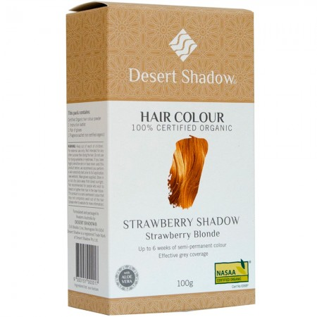 Desert Shadow Organic Hair Colour - Strawberry Shadow 100g
