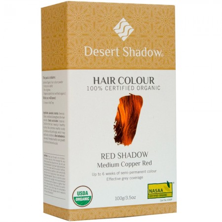 Desert Shadow Organic Hair Colour - Red Shadow 100g