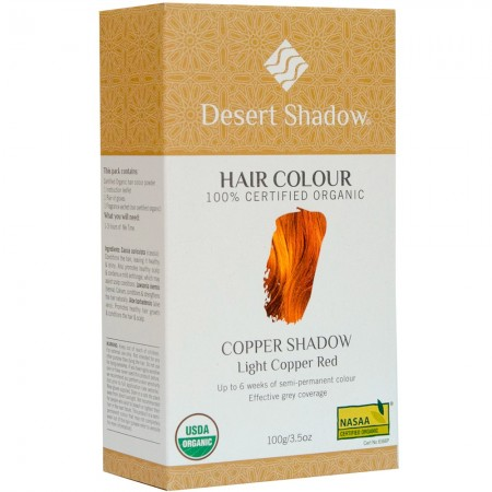 Desert Shadow Organic Hair Colour - Copper Shadow 100g