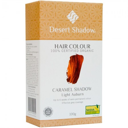 Desert Shadow Organic Hair Colour - Caramel Shadow 100g