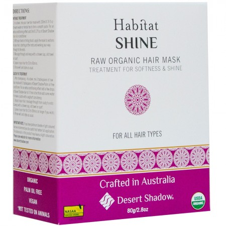 Desert Shadow Shine Raw Organic Hair Mask 80g