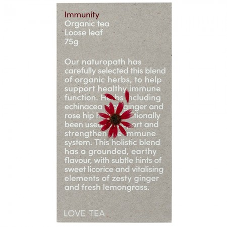 Love Tea Organic Loose Leaf 75g - Immunity