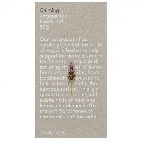 Love Tea Organic Loose Leaf 50g - Calming