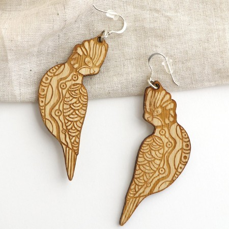 Gillawarra Arts Cheeky Galahs Earrings