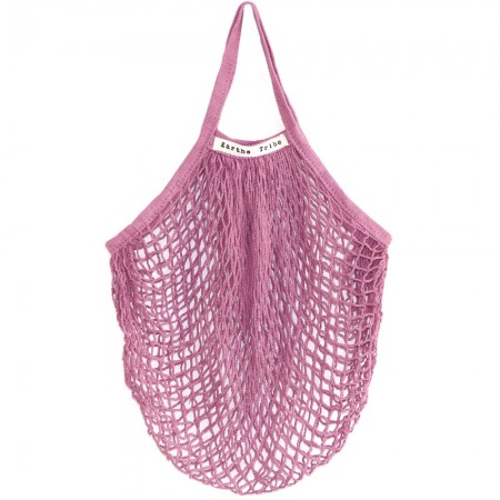 Earths Tribe String Carry Bag - Dusty Pink