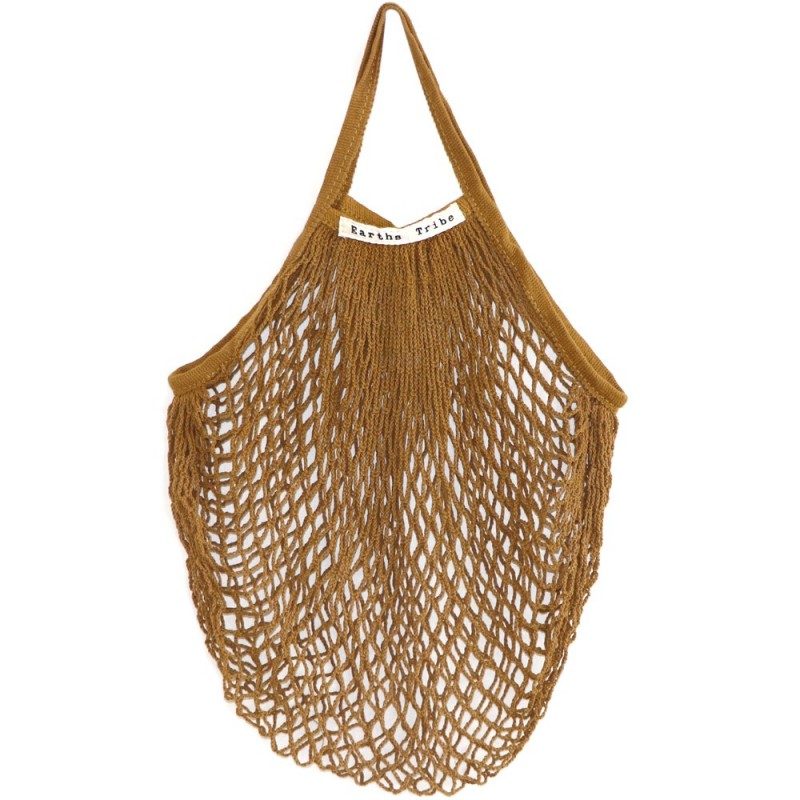 Earths Tribe String Carry Bag Coffee