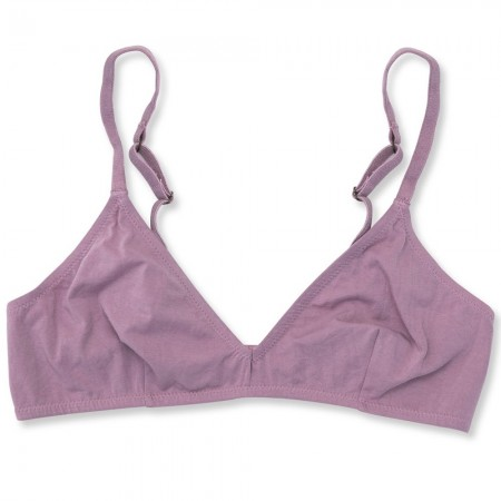 NICO Organic Cotton Triangle Bra - Lilac