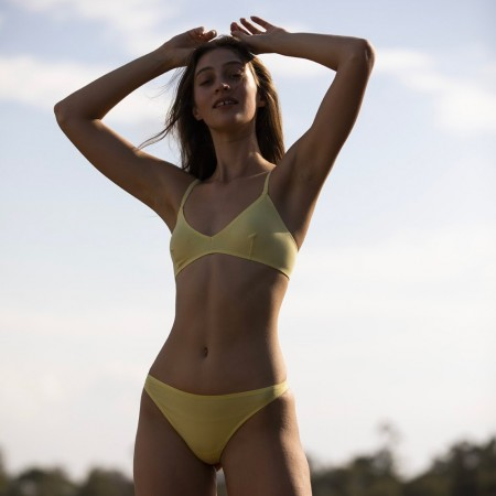 NICO Triangle Bra - Lemon
