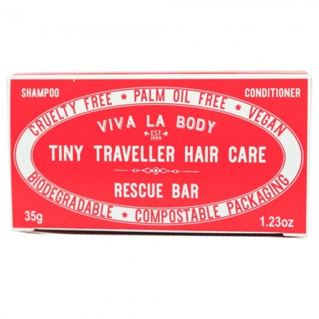 Viva La Body Tiny Traveller Hair Care Bars 35g - Rescue