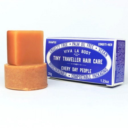 Viva La Body Tiny Traveller Hair Care Bars 35g - Every Day People