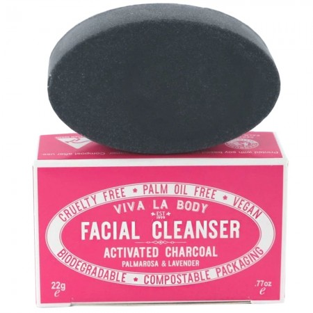 Viva La Body Petite Facial Cleanser Activated Charcoal 22g