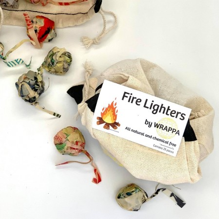 Wrappa Vegan Fire Lighters - Pack of 25
