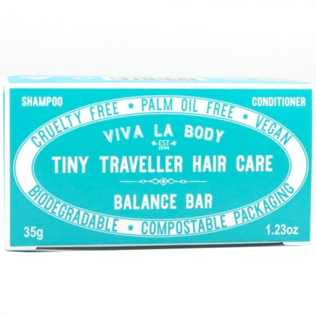 Viva La Body Tiny Traveller Hair Care Bars 35g - Balance