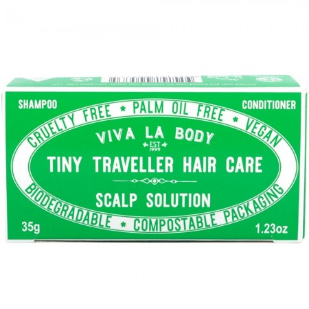 Viva La Body Tiny Traveller Hair Care Bars 35g - Scalp Solution