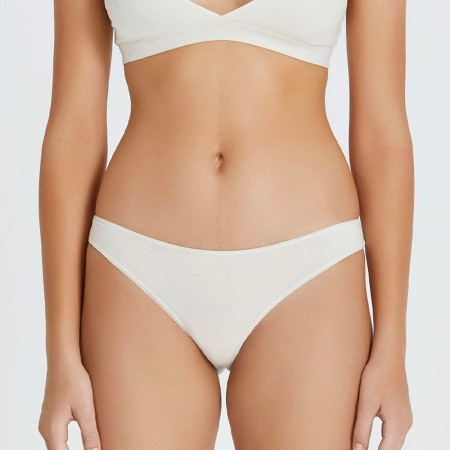 Hand Organic Cotton Basic Brief - Natural