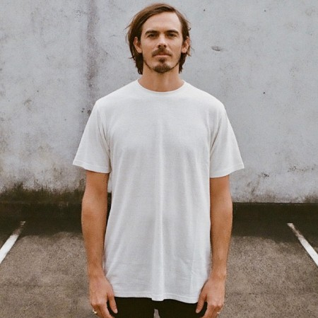 Hemp Clothing Australia Mens Classic Tee - Natural White