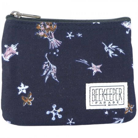 Beekeeper Parade Coin Purse - Navy Dreams