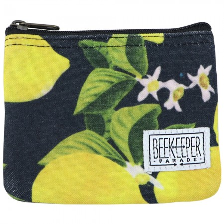Beekeeper Parade Coin Purse - Lemon