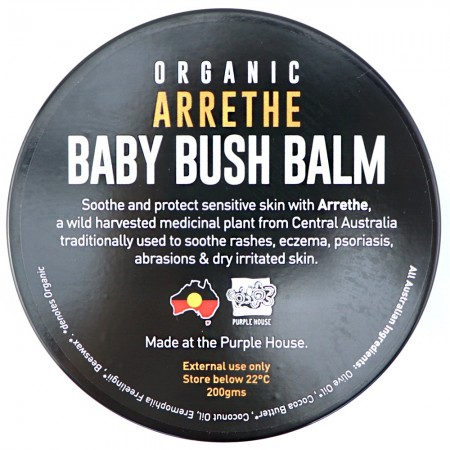 Bush Balm for Baby with Organic Arrethe 200g