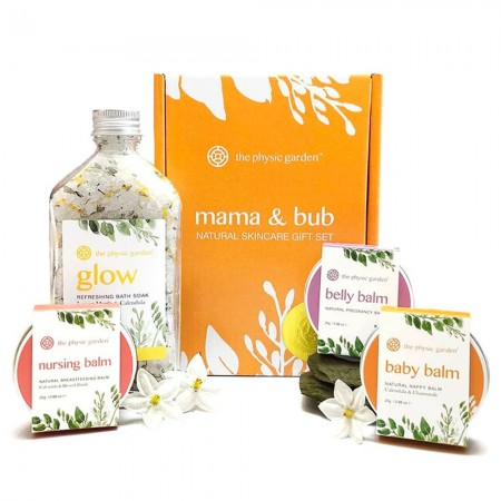 The Physic Garden Mama & Bub Natural Skin Care Gift Set