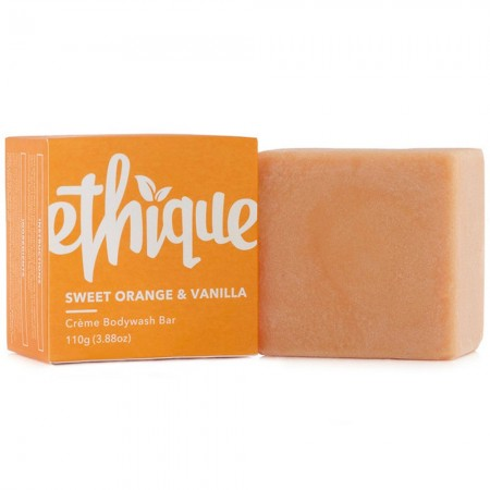 ETHIQUE Solid Crème Bodywash Bar 110g - Sweet Orange & Vanilla