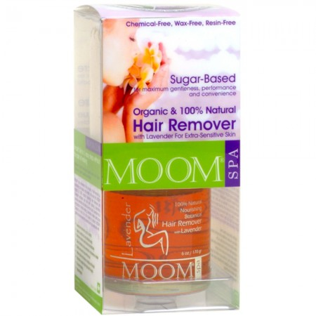MOOM Hair Removal Kit 170g Large size - Lavender